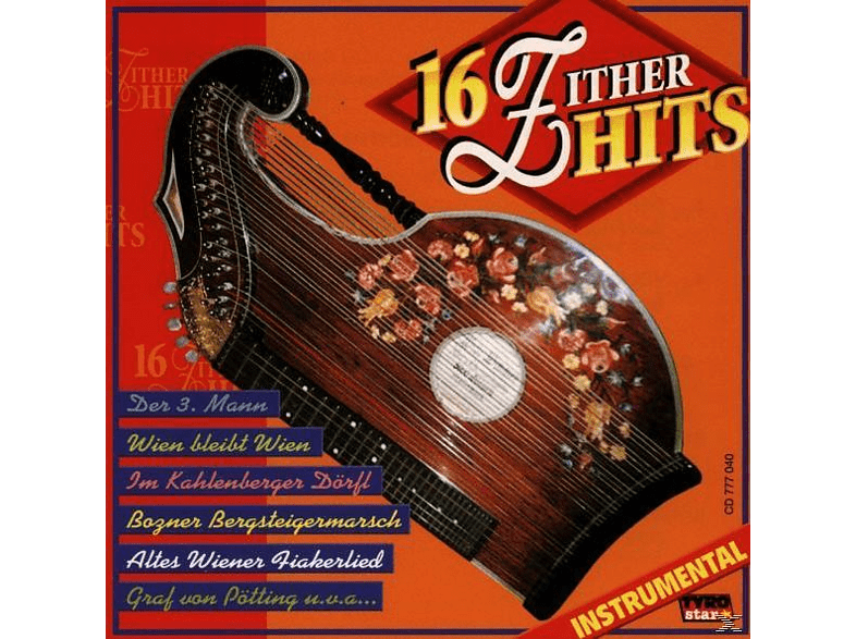 VARIOUS - 16 Zither-Hits/Instrumental [CD]