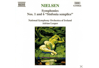 Nsoi, Leaper/Nationales SO Irland - Sinfonien 1+6 - (CD)