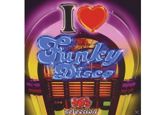 VARIOUS - i love funky disco - (CD)