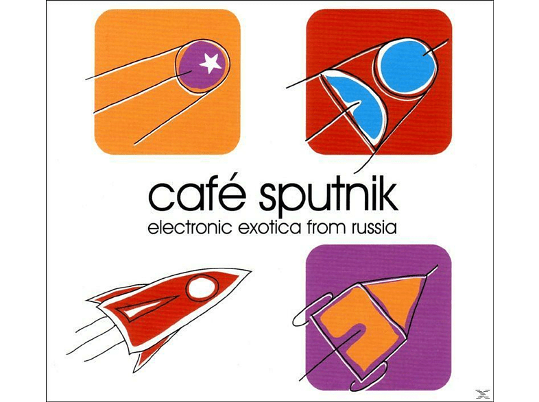 VARIOUS - Cafe Sputnik - Electronic Exotica From Russia [CD]