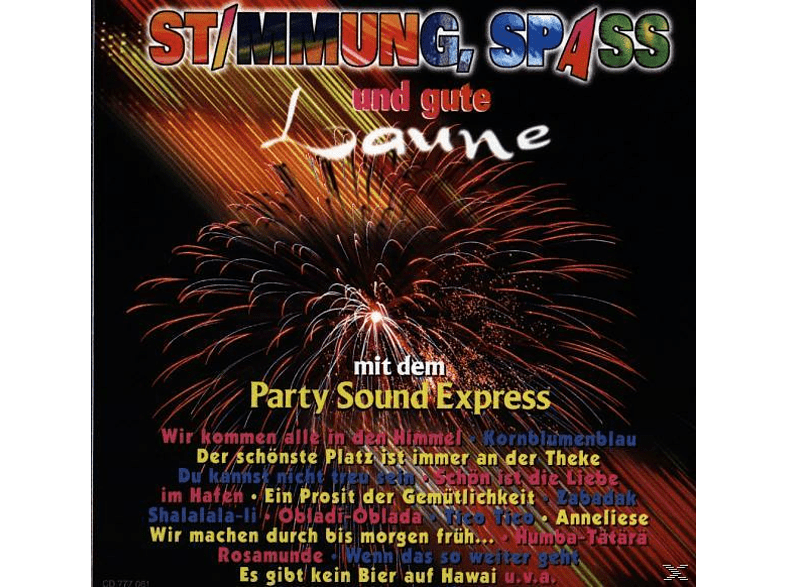 Party Sound Express - Stimmung,Spass U.Gute Laune [CD]