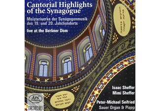 Scheffer/Seifried - Cantoral Highlights Of The Synagoge - (CD)