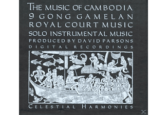 VARIOUS - Music Of Cambodia Vol.1-3 - (CD)