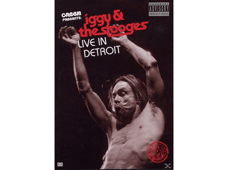 Iggy Pop - Iggy Pop & The Stooges - Live in Detroit [DVD]