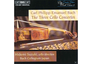 Suzuki - CELLO CONCERTOS (COMPL ED. 7) - (CD)