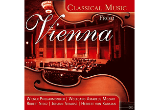 VARIOUS - Classical Music From Vienna - (CD)