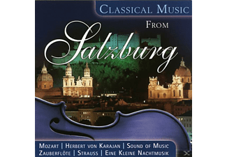VARIOUS - Classical Music From Salzburg - (CD)