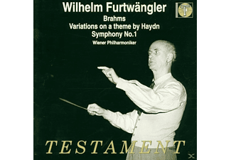 Wiener Philharmoniker - Sinfonie 1/Variationen on at theme by Haydn - (CD)