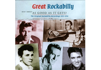 VARIOUS - Rockabilly-Just About As Good - (CD)