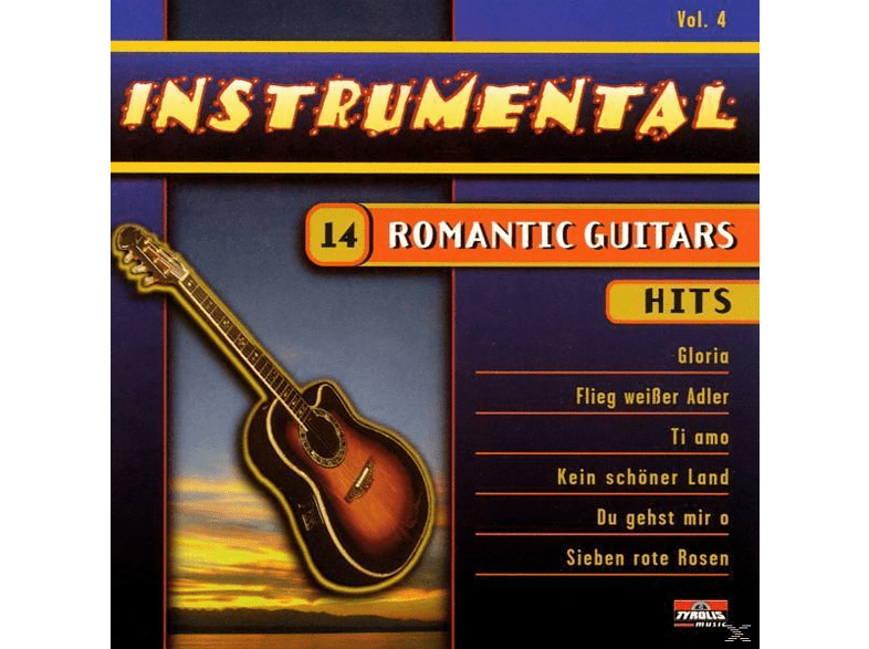 VARIOUS - Instrum.Vol.4-Romantic Guit. [CD]