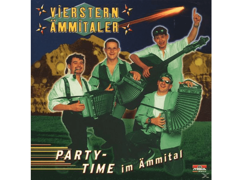 Vierstern-aemmitaler - Party-Time Im Ämmital [CD]