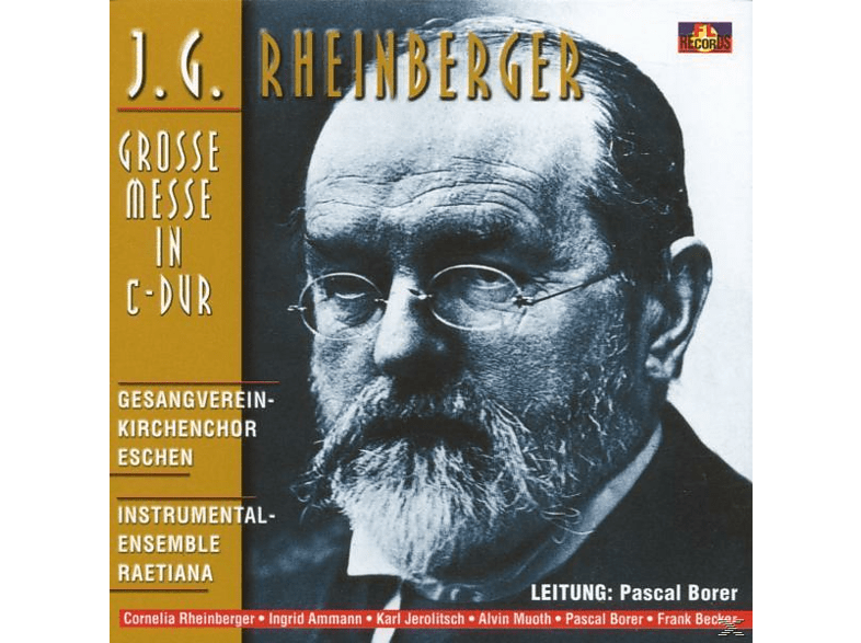 Pascal Borer - Grosse Messe In C-Dur [CD]