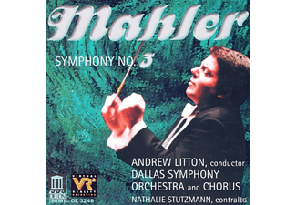 Andrew Litton, Dallas Symphony Orchestra - Mahler:Sinfonie 3 - (CD)