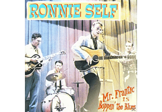 Ronnie Self - MR. FRANTIC IS BOPPIN  THE BLUES - (CD)