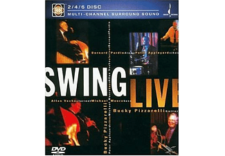 - Bucky Pizzarelli - Swing Live - (DVD)
