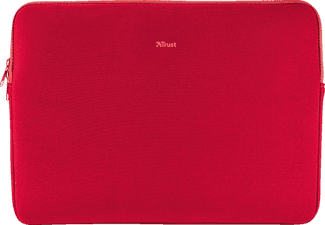 TRUST Primo Notebookhülle, Sleeve, 15.6 Zoll, Rot