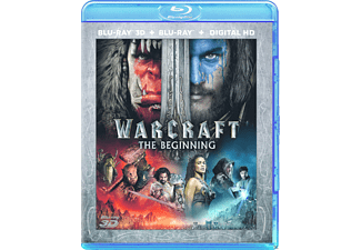 Warcraft: The Beginning Blu-ray 3D