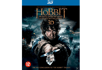 The Hobbit: The Battle of the Five Armies 3D + 2D Blu-ray