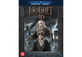 The Hobbit: The Battle of Five Armies Extended Edition 3D + 2D Blu-ray