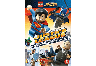 Lego DC Super Heroes Justice League Attack of the Legion of Doom! - DVD