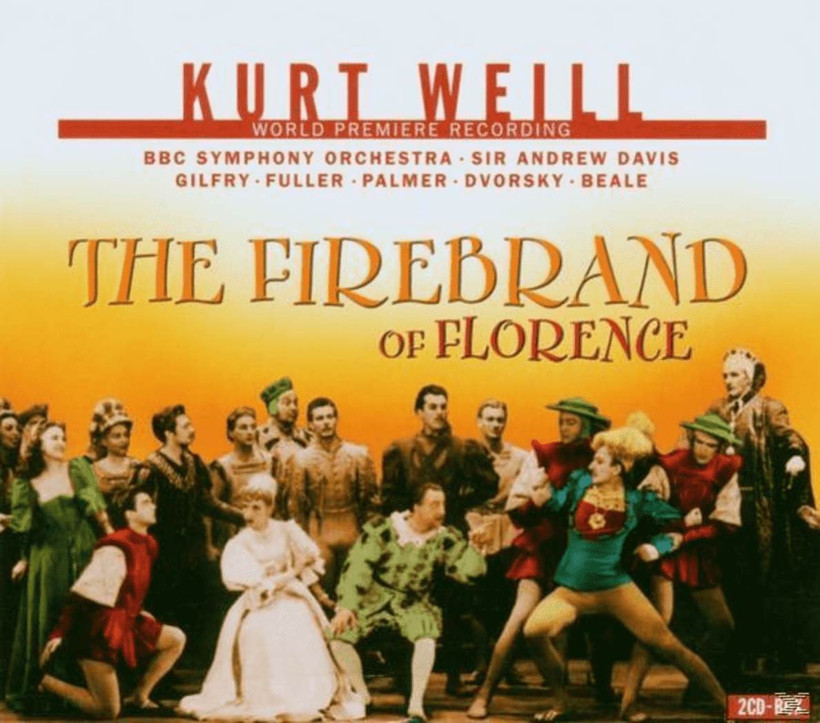 The Firebrand Of Florence BBC Symphony Orchestra auf CD