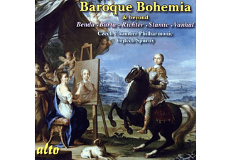 Czech Chamber Philhamonic Orchestra - Baroque Bohemia Vol.1 - (CD)