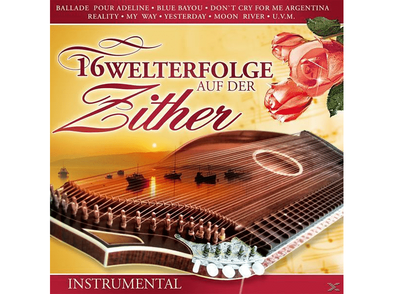VARIOUS - 16 Welthits auf der Zither [CD]
