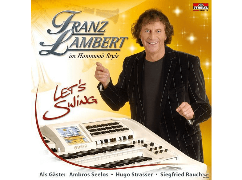 Franz Lambert - Let's Swing [CD]