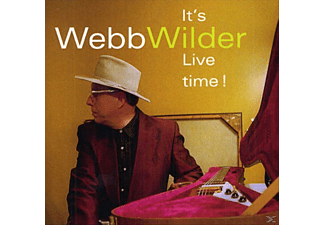 Webb Wilder - It's Live Time! - (CD)