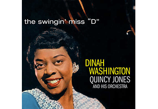 Dinah Washington - Swingin' Miss D (CD)