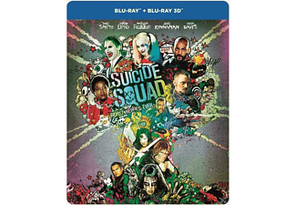Suicide Squad Extended Cut Steelbook Blu-ray 3D