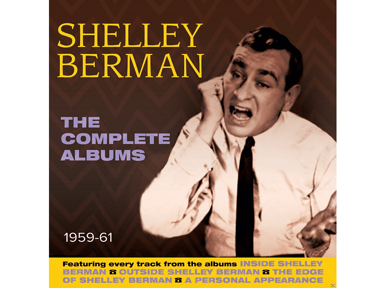 Shelley Berman - The Complete Albums 1959-61 [CD]