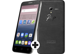 ALCATEL Pop 3 (5) 8 GB Wit + Leren Cover
