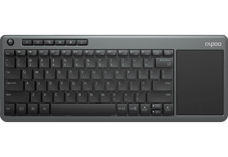 RAPOO K2600 Wireless Touch, Keyboard, Schwarz