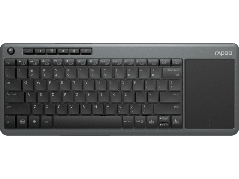RAPOO K2600 Wireless Touch, TV-Tastatur