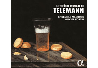 Olivier Fortin, Ensemble Masques - Le Theatre musical de Telemann - (CD)
