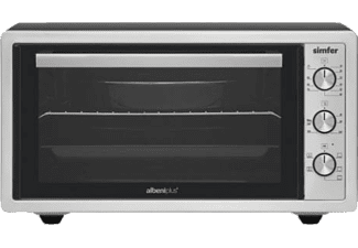 SIMFER 4507 Inox 45 lt Pop-Up Düğme Turbo Midi Fırın