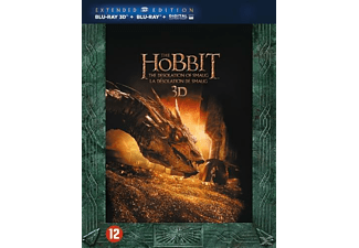 The Hobbit : P2 - The Desolation of Smaug : Extended Edition 3D + 2D Blu-ray