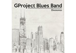 Gproject Blues Band - Diversified - (CD)