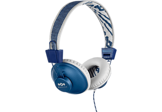 MARLEY EM-JH011-DN positive Vibration, On-ear Kopfhörer, Blau