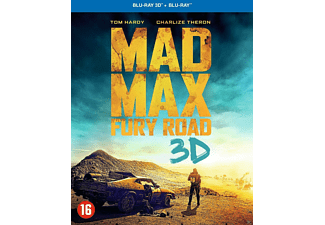 Mad Max: Fury Road Steelbook 3D + 2D Blu-ray
