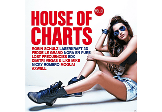 VARIOUS - House Of Charts Vol.1 - (CD)