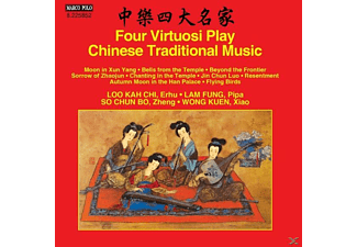 Kah Chi,Loo/Fung,Lam/Chun Bo,SO/Kuen,Wong - Four Virtuosi Play Chinese Traditional Music - (CD)