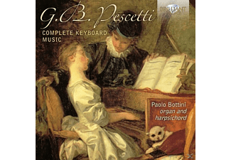 Paolo Bottini - Complete Keyboard Music - (CD)