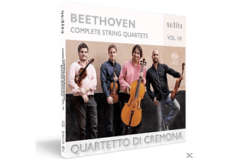 Quartetto Di Cremona - Complete String Quartets Vol.7 - (SACD)