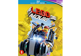 The Lego Movie 3D +  2D Blu-ray