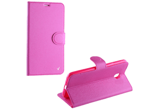 VOLTE-TEL Θήκη Huawei Y3 II 4.5 Silk Leather-TPU Book Stand Pink - (5205308173011)