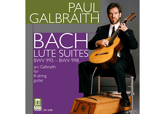 Paul Galbraith - Lautensuiten - (CD)