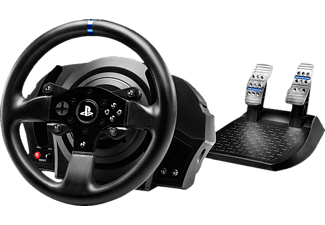 THRUSTMASTER T300 RS Rally Pack ( inkl. 2-Pedalset, inkl. Sébastien Loeb Rally Evo (PS4), PS4 / PS3 / PC), Lenkrad, Schwarz