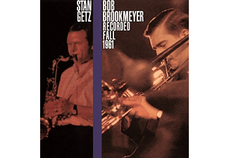 Stan Getz, Bob Brookmey - Recorded Fall 1961 (CD)